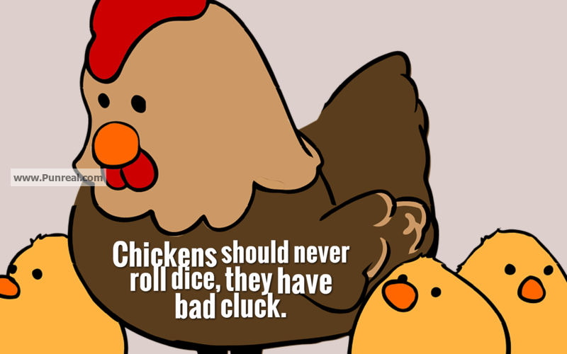This Chicken Pun is Bad Cluck